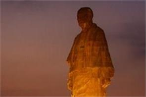 gujarat statue of unity 50 lakh tourists statue