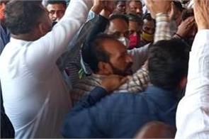 jalandhar railway station workers protest
