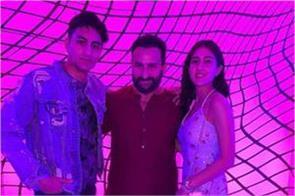 ibrahim ali khan birthday party inside pics