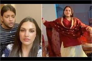 himanshi khurana viral funny video on internet