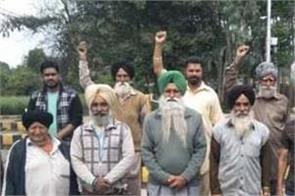 mangarh toll plaza  farmers  protest