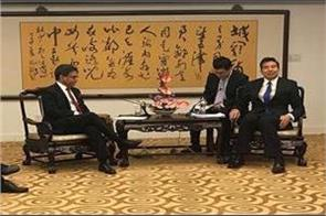 indian ambassador meets chinese deputy foreign minister