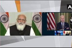at the first virtual summit of quad leaders  pm modi  s defense agenda