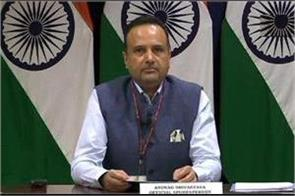 india spoke on relations with pakistan   all issues should be resolved