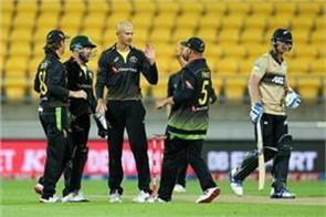 nz v aus australia beat new zealand by 64 runs in t20