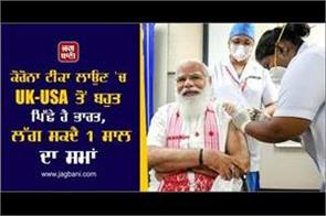 india lags far behind uk usa in corona vaccination it may take 1 year