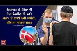 denmark bans astrazeneca corona vaccine  becomes first country
