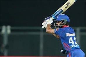 dhawan beats kohli to become first batsman in ipl history