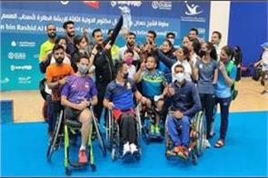 india concludes dubai para badminton with 20 medals