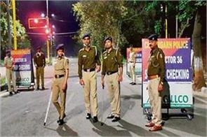 night curfew in chandigarh