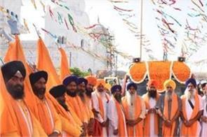 nagar kirtan  dhamdhan sahib  gurdwara patshahi ninth jind
