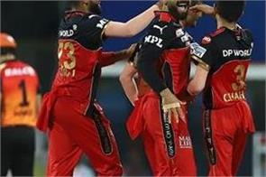 ipl 2021  royal challengers bangalore  point table top