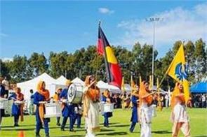 the 33rd australian sikh games  painted in khalsa colors  ended on a high note