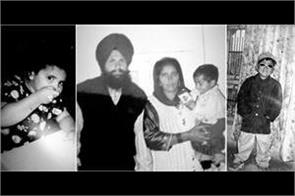 karan aujla shared old pictures with parents