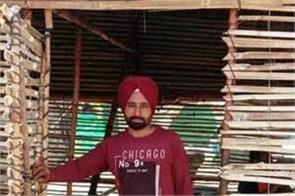 bamboo shed built to protect farmers from rain