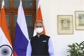 s jaishankar foreign minister sergey lavrov talks