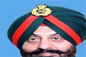 lieutenant general manjinder singh western command chief of staff designation