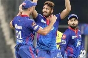ipl 2021 avesh khan chennai super kings mahendra singh dhoni wicket