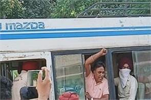 education minister  protest  unemployed teachers  jail  sangrur