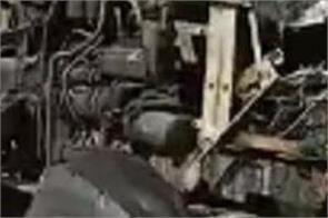 22 tractors burnt jalandhar
