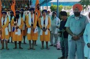 sultanpur lodhi  nagar kirtan gurdwara baba darbara singh ji tibba