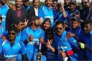 india triangular blind cricket title win