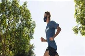 running by wearing a mask not exercising heart patients can be fatal