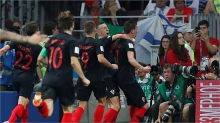 FIFA WC 2018 : ਕ੍ਰੋਏਸ਼ੀਆ ਨੇ ਇੰਗਲੈਂਡ ਨੂੰ ਹਰਾ ਫਾਈਨਲ 'ਚ ਬਣਾਈ ਜਗ੍ਹਾ