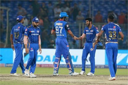 IPL 2019 : ਮੁੰਬਈ ਨੇ ਦਿੱਲੀ ਕੈਪੀਟਲਸ ਨੂੰ 40 ਦੌੜਾਂ ਨਾਲ ਹਰਾਇਆ