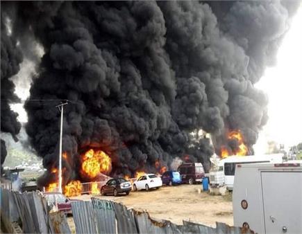 ਨਾਈਜੀਰੀਆ : ਪੈਟਰੋਲ ਟੈਂਕਰ 'ਚ ਧਮਾਕਾ, 23 ਲੋਕਾਂ ਦੀ ਮੌਤ