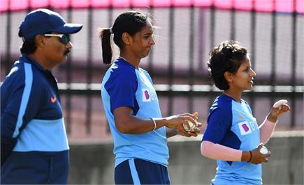 Women T-20 WC : ਭਾਰਤੀ ਟੀਮ ਨੇ  ਫਾਈਨਲ ਮੈਚ ਤੋਂ ਪਹਿਲਾਂ ਅਭਿਆਸ ਸੈਸ਼ਨ 'ਚ ਲਿਆ...