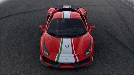 ਰੇਸਿੰਗ ਦੇ ਸ਼ੌਕੀਨਾਂ ਲਈ ਫਰਾਰੀ 488 ਪਿਸਟਾ ਦਾ ਯੂਨੀਕ ਵਰਜ਼ਨ Piloti Ferrari