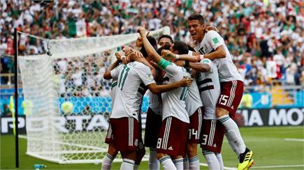 FIFA World Cup 2018: ਮੈਕਸੀਕੋ ਨੇ ਦੱਖਣੀ ਕੋਰੀਆ ਨੂੰ 2-1 ਨਾਲ ਹਰਾਇਆ