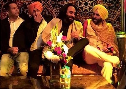 babbu maan and bhagwant mann kapil reception