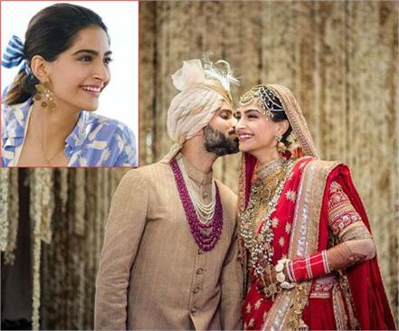 sonam kapoor eason married anand ahuja