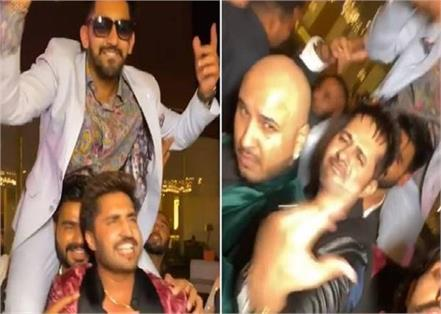 jassi gill prabh gill babbal rai b praak enjoying party bollywood star