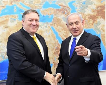 pompeo and netanyahu discuss regional development