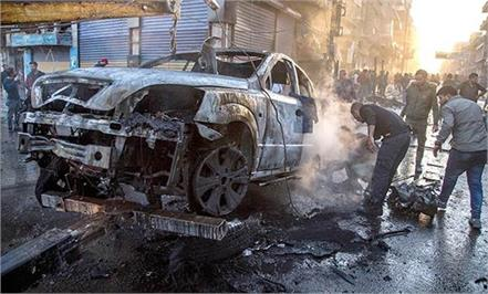 syria car bomb blast kills 19  injures 33