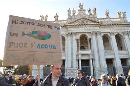 rome  protest