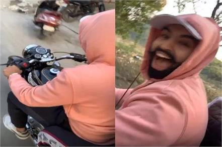 parmish verma broke traffic rules