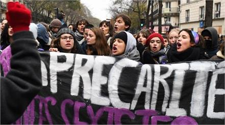 no relief in strike in france fear of unrest again