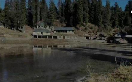 mandi kamarunag lake frozen