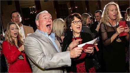boss surprises employees with  10 million bonus at holiday party