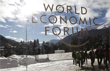 concerns climate change but leader arrived in davos via private jet