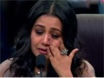 neha kakkar breaks down after watching an emotional dance performance