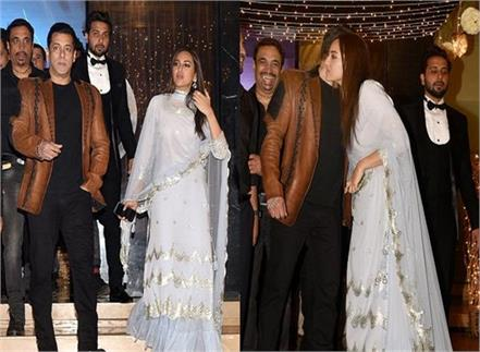 salman khan and sonakshi sinha mumbai wedding
