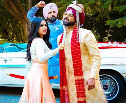 simi chahal and gippy grewal