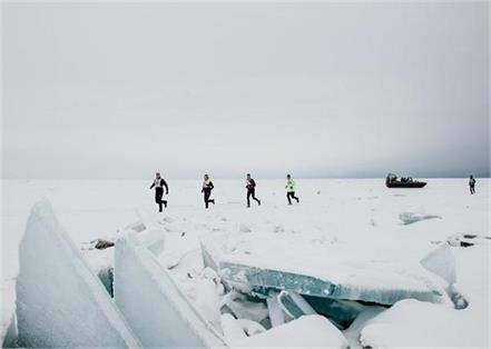 russia  ice marathon