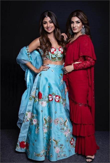 shilpa shetty and raveena tandon