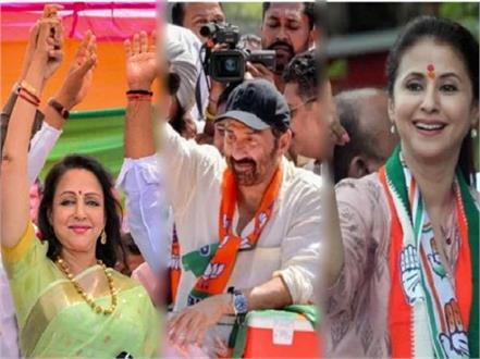 bollywood celebrities contesting lok sabha election on bjp congress ticket